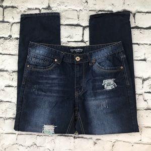 Other - United Denim Of America Mens 36 Jeans Distressed